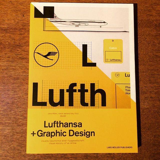 デザインの本「Lufthansa and Graphic Design」 - 画像1