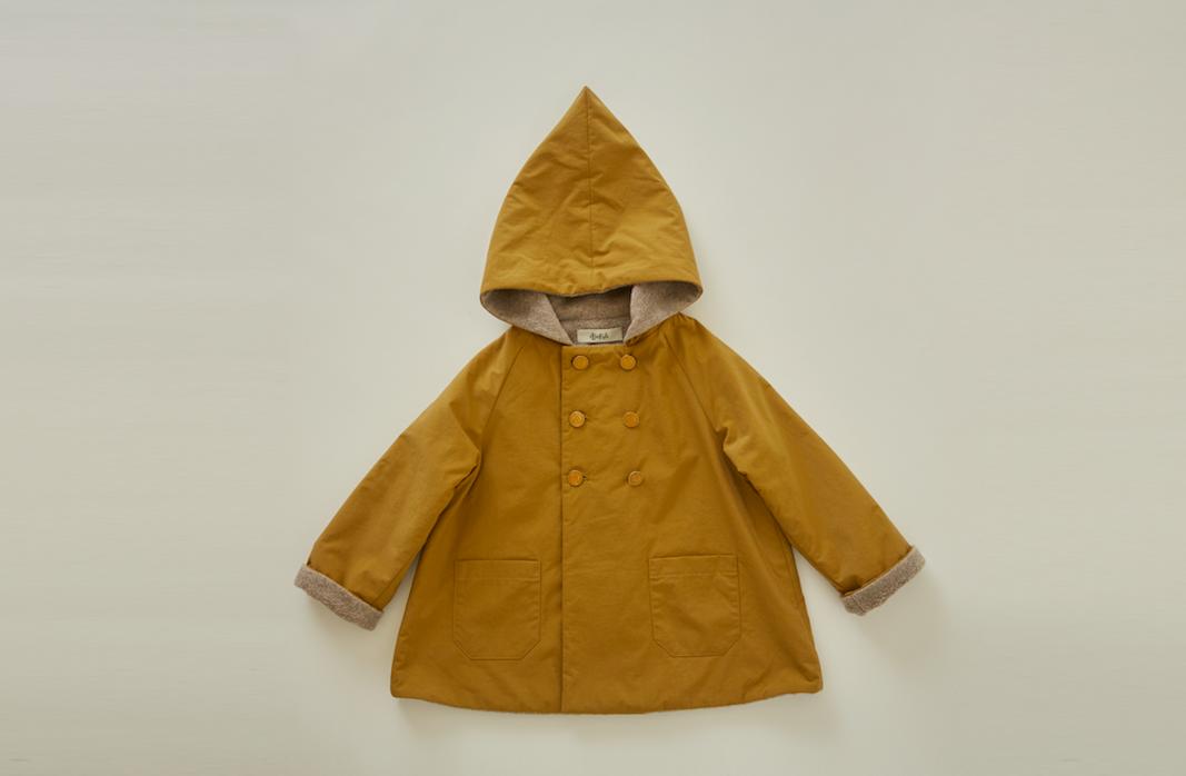 eLfinFolk(エルフィンフォルク)/elf coat camel(90/100)
