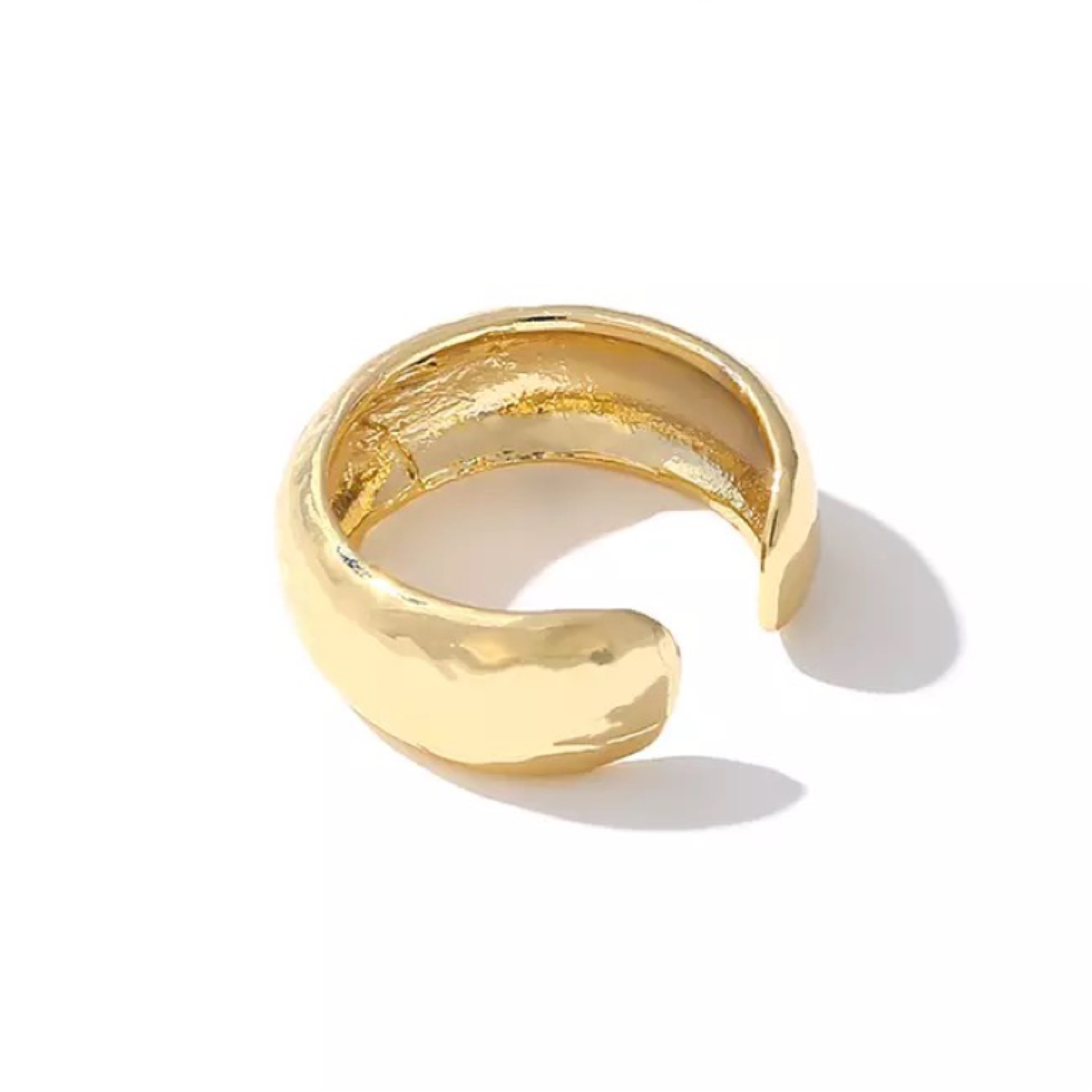gold wide ring