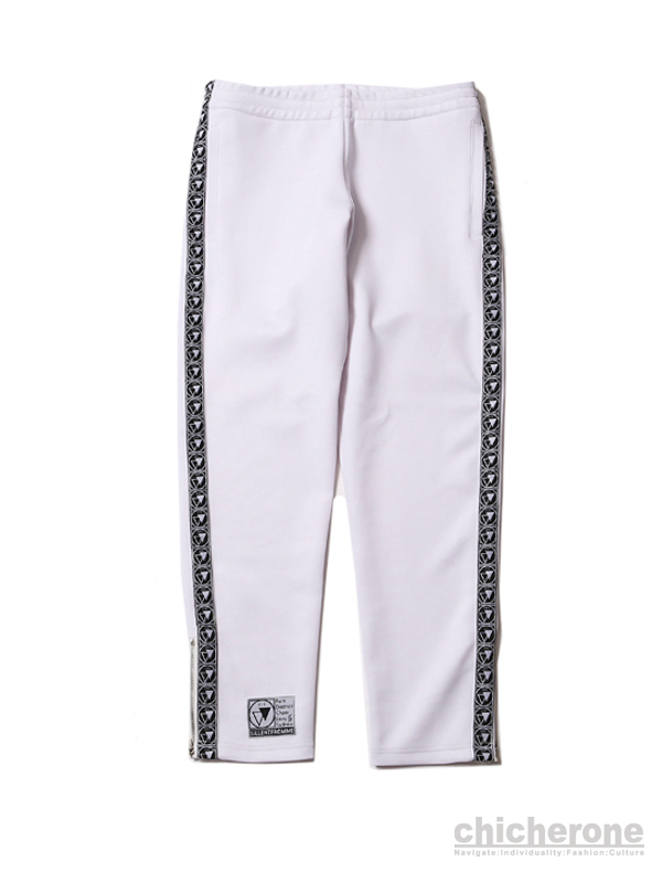 【SILLENT FROM ME】CLIQUE -Track Pants-