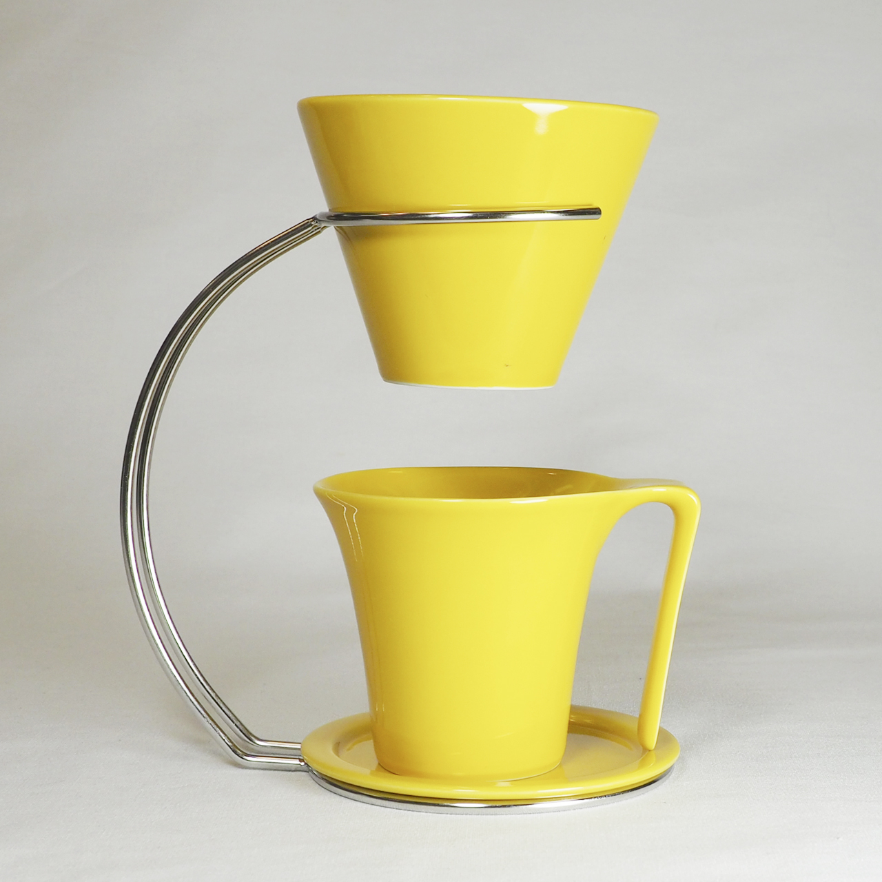 スタイリードリッパー&スタッキングマグカップ (黄) 30-011-B