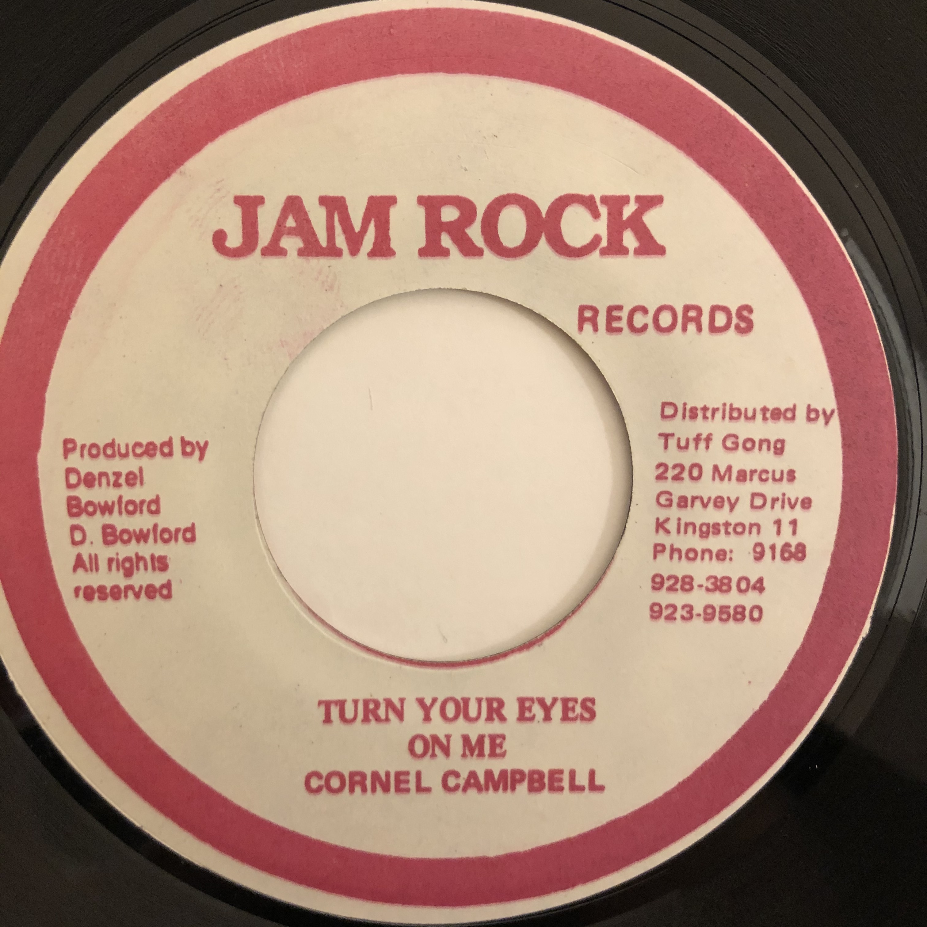 Cornell Campbell - Turn Your Eyes【7-20462】