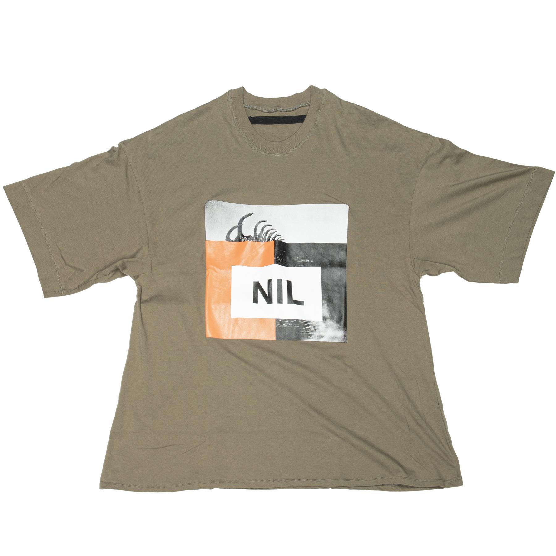 640CPM12-OLIVE / NIL ミックスT-シャツ