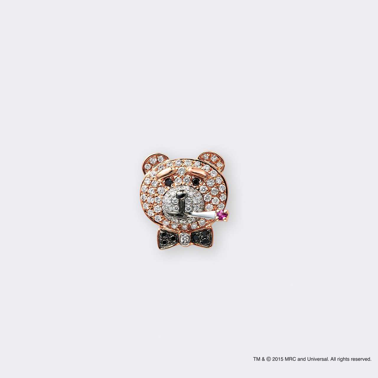 Ted2×BIJOUPIKO (テッド2×ビジュピコ コラボレーションジュエリー)K18PG ピンブローチ シガレット