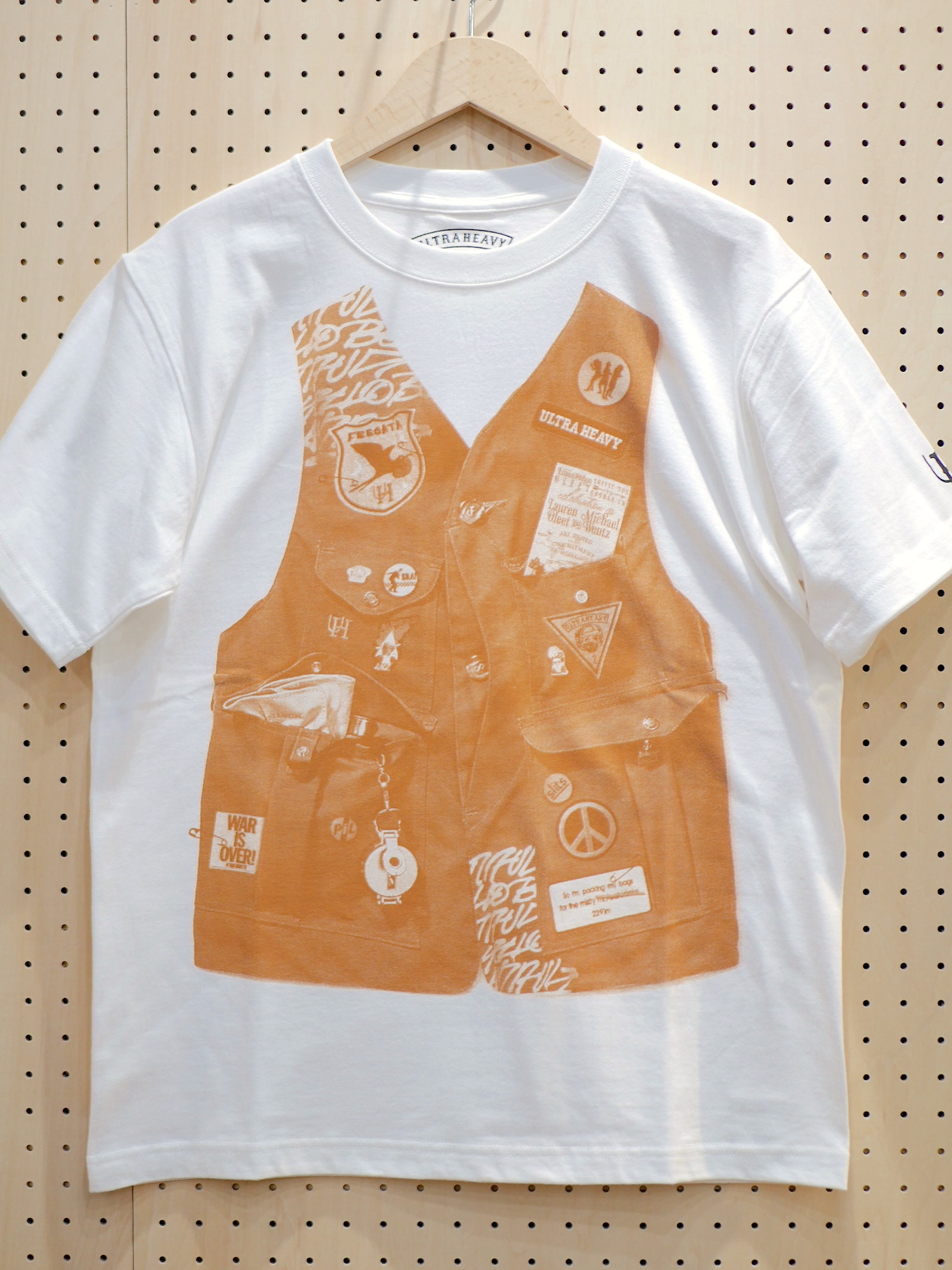 U.H. / HEAVY-WEIGHT TEE(VEST)