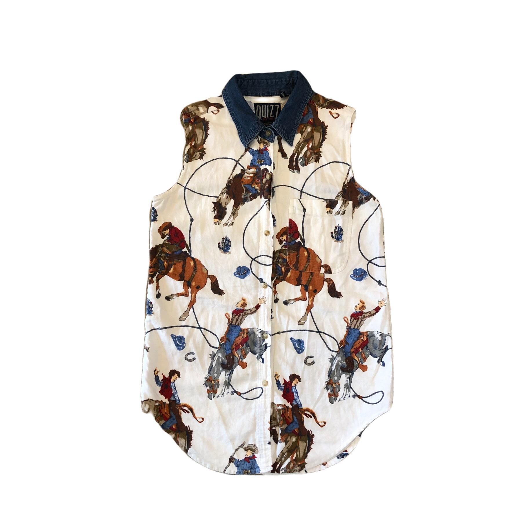 Quizz Cowboy S/L Shirts ¥4,800+tax