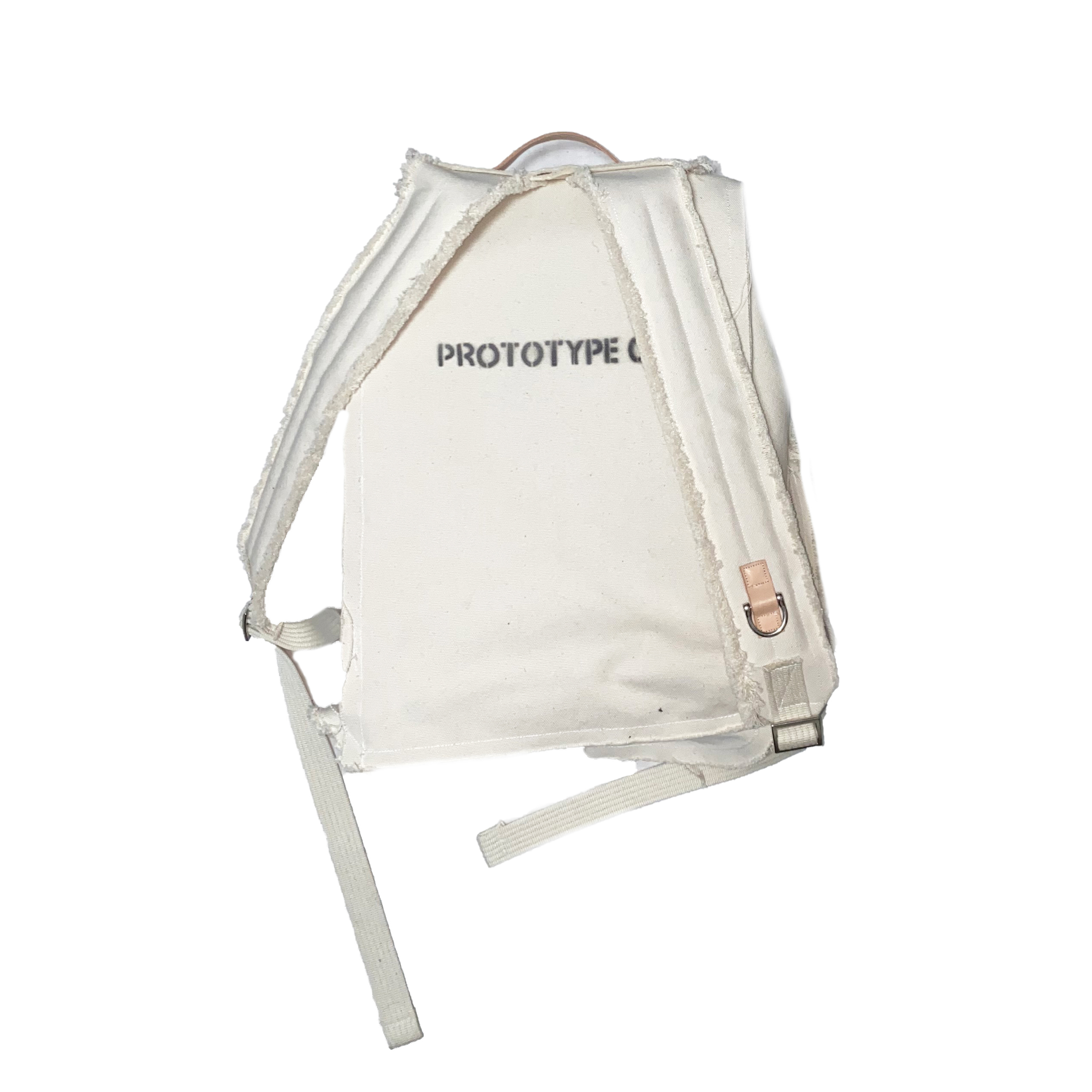 """Large Backpack """"Prototype004"""" / White - 画像2"""