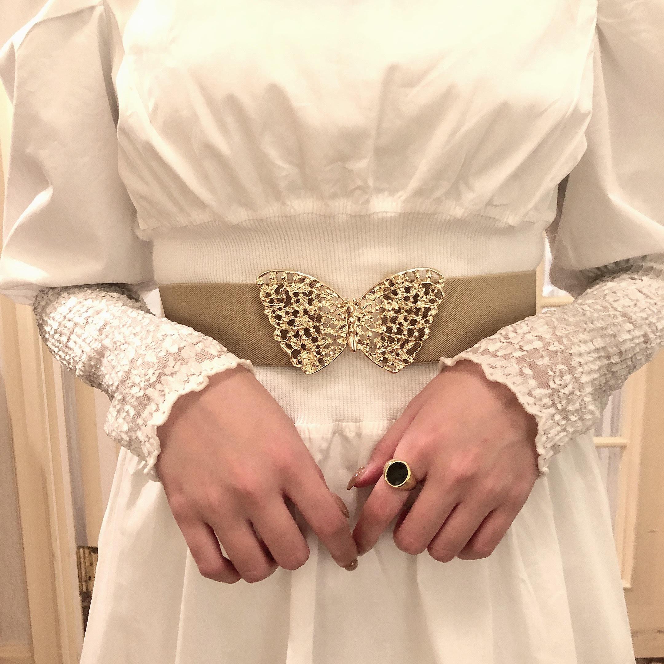 【LAST1】butterfly belt