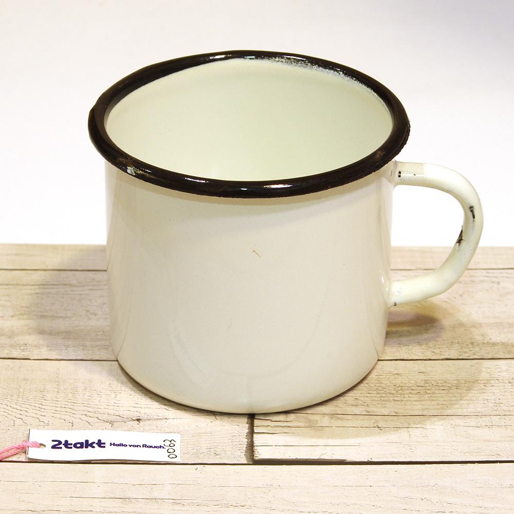 【Vintage品】ソビエト製デッドストック ホーローマグカップ/0063