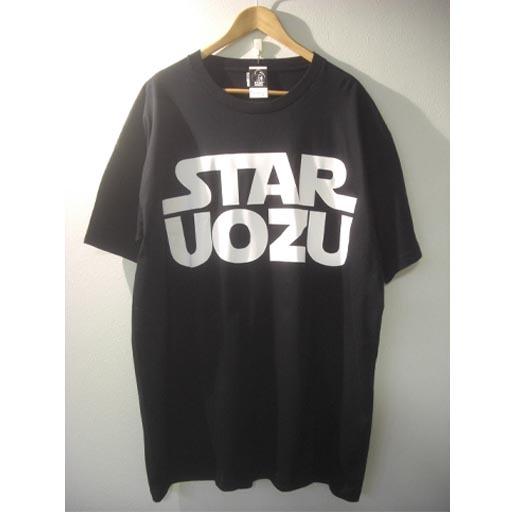 STAR UOZU Tシャツ【5XL】ブラック×ホワイト