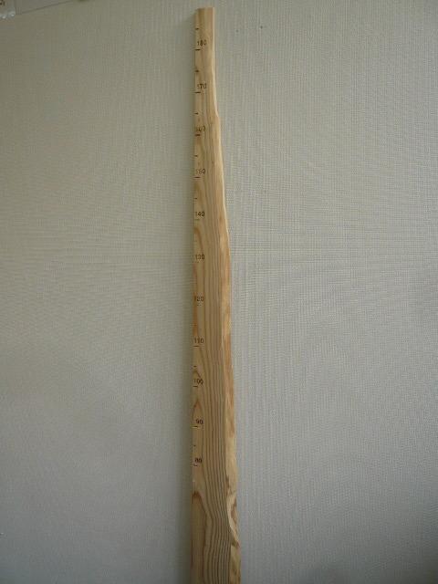 背くらべ 木製 - 画像5