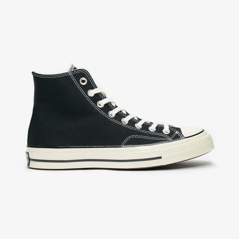 Converse Chuck Taylor70 - Hi : Black/Black/Egret