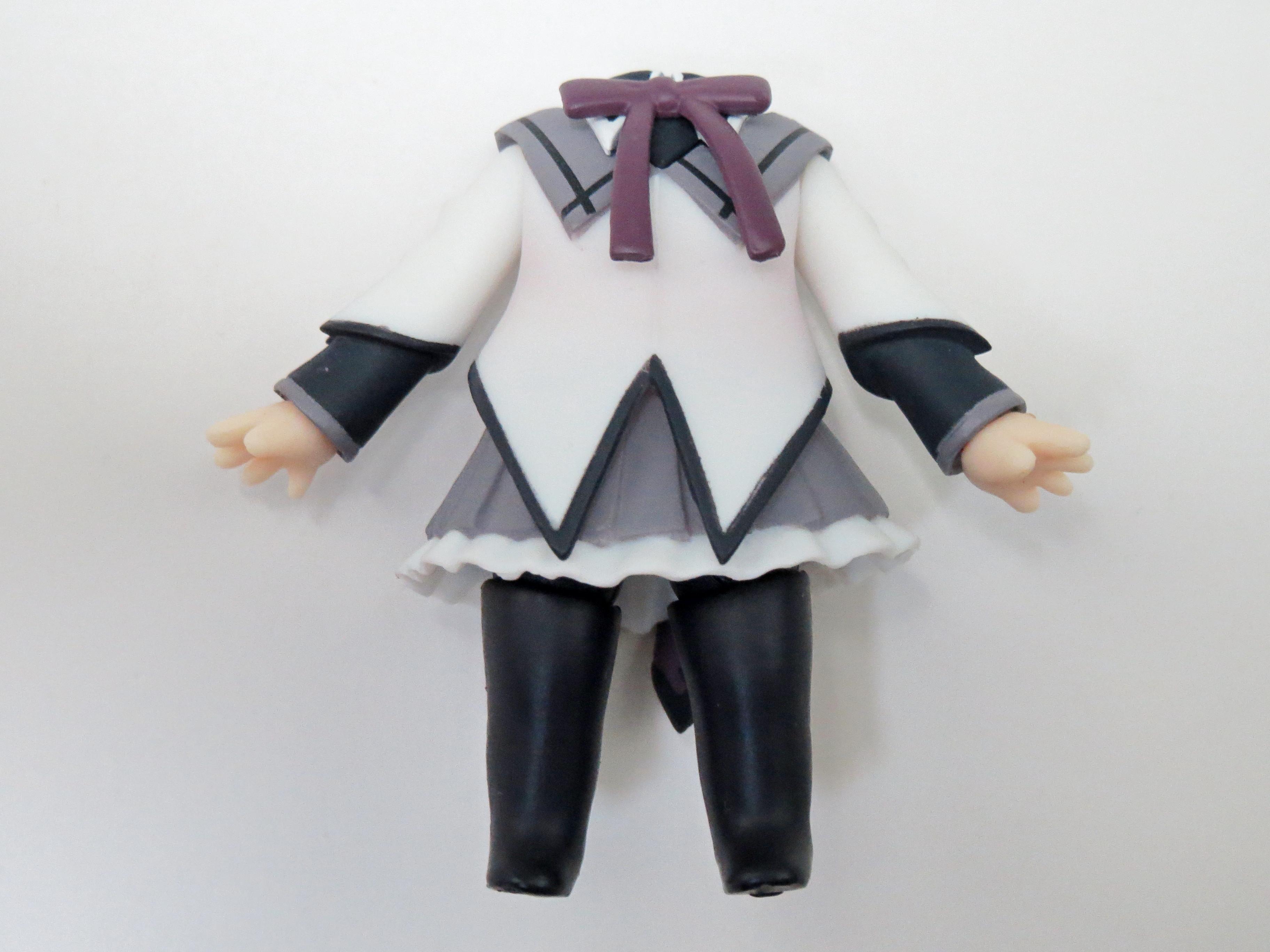 再入荷【182】 暁美ほむら 体パーツ 魔法少女の服 ねんどろいど