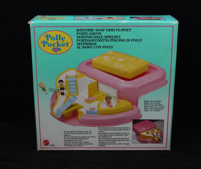 ポーリーポケット バスタイムソープディッシュ 1990年 新品