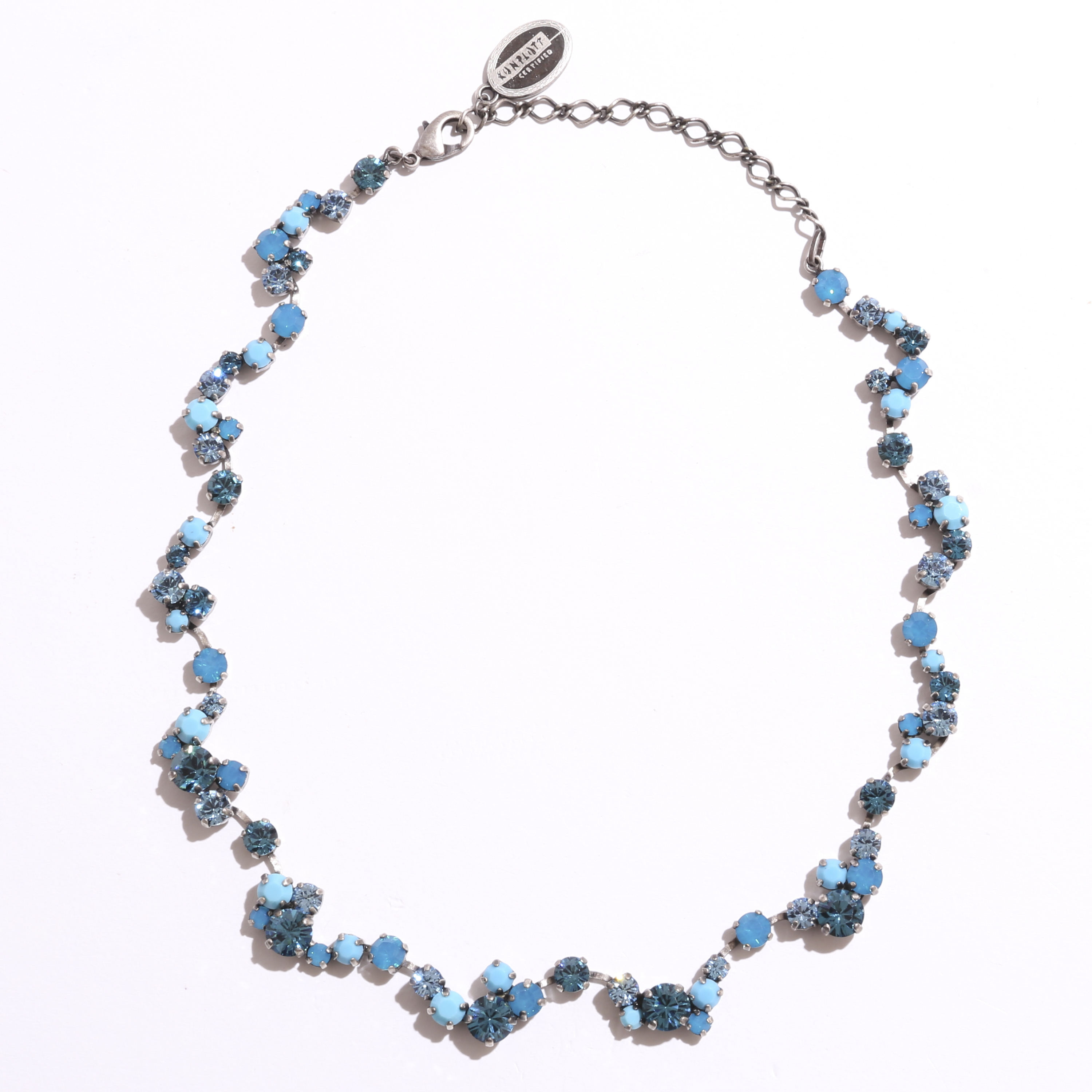 mulch color necklaceネックレス ブルー