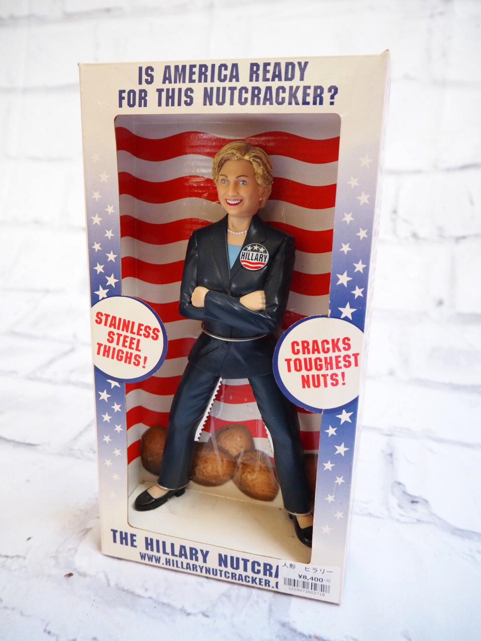 品番2718 ヒラリークリントン くるみ割り人形 アメリカン雑貨 011
