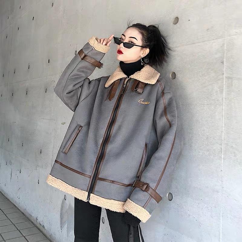 leather belt bore jacket
