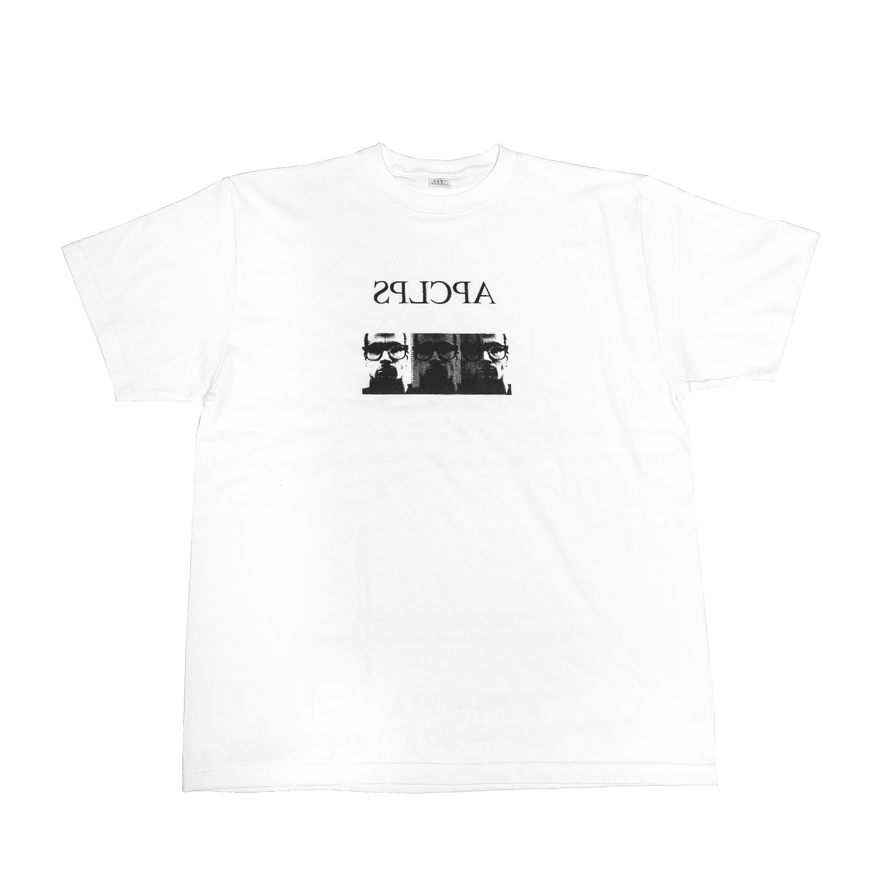 007CPM2-WHITE / APCLPS STAFF T-SHIRT