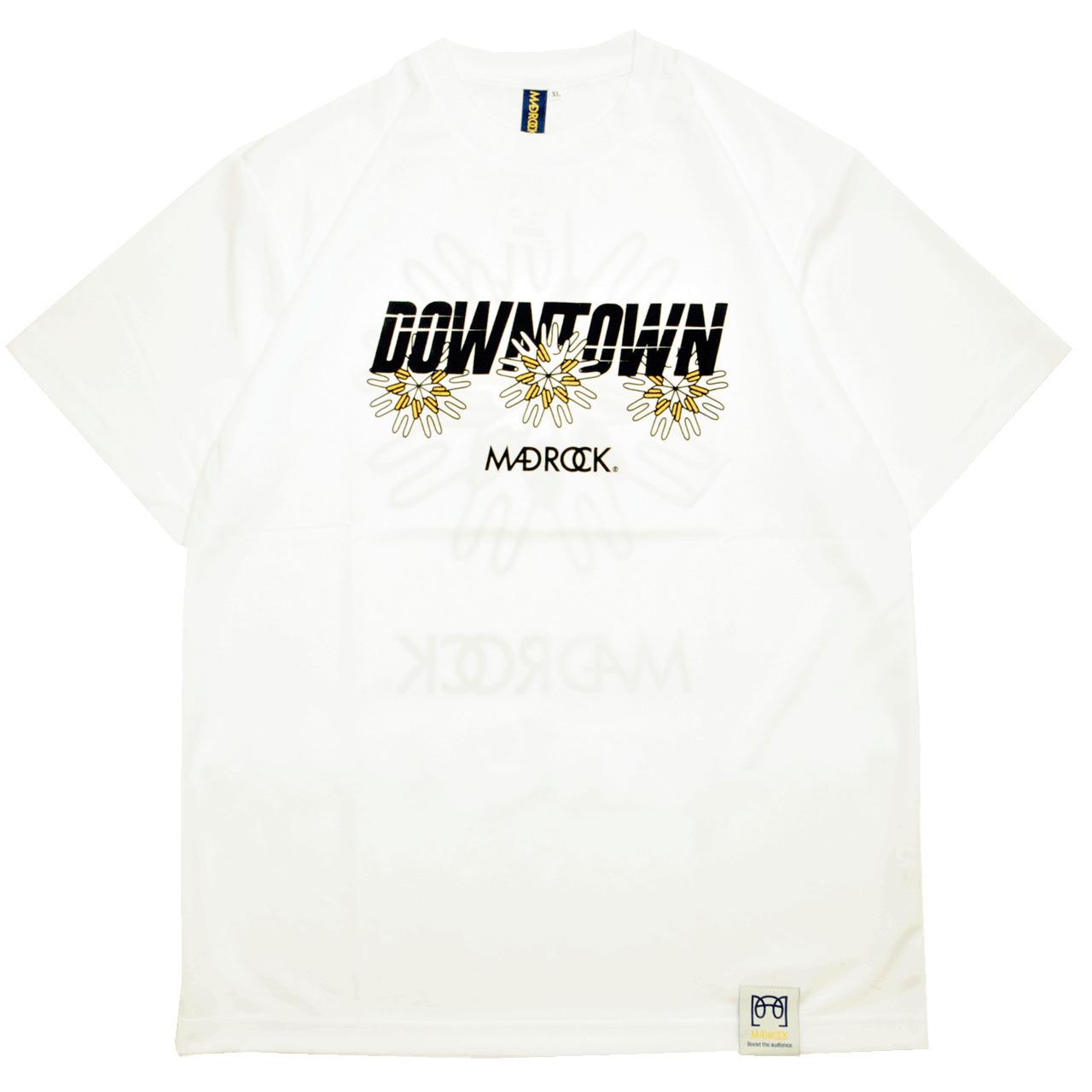 マッドロック - ダウンタウン - Tシャツ / ドライタイプ / ホワイト / MADROCK - DOWNTOWN - TEE