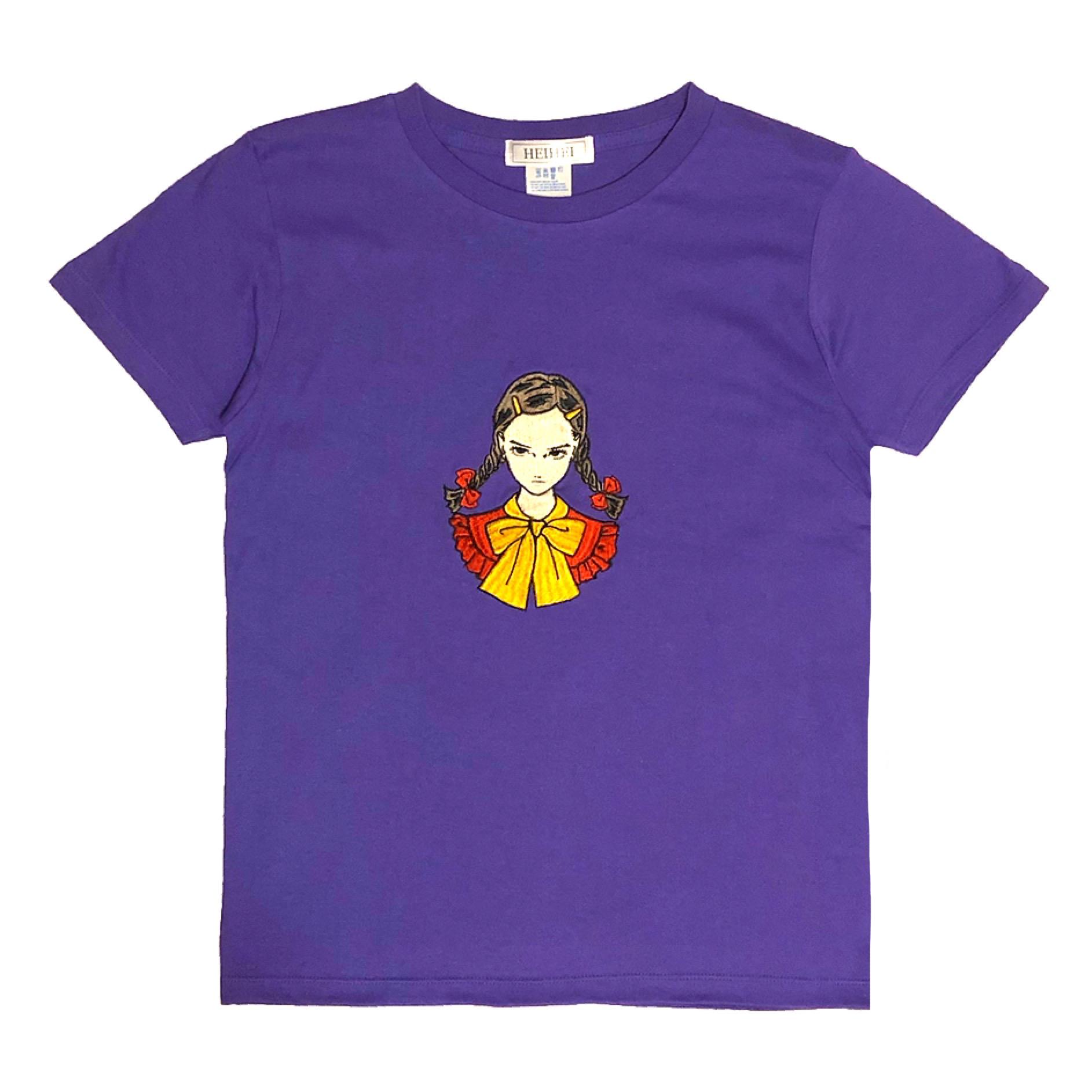 刺繍Tシャツ ガールC