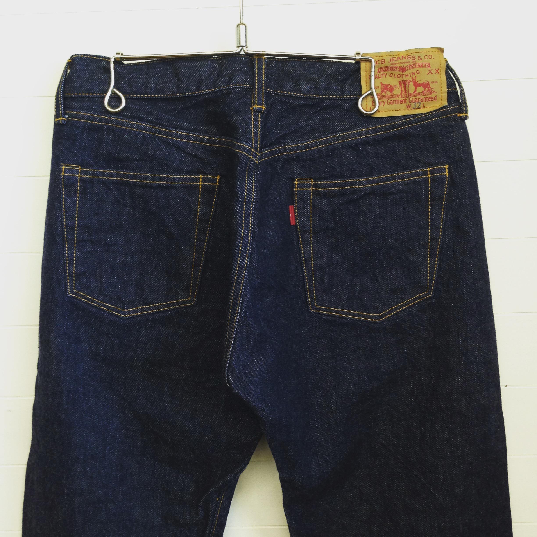 TCB(ティーシービ) jeans 60's