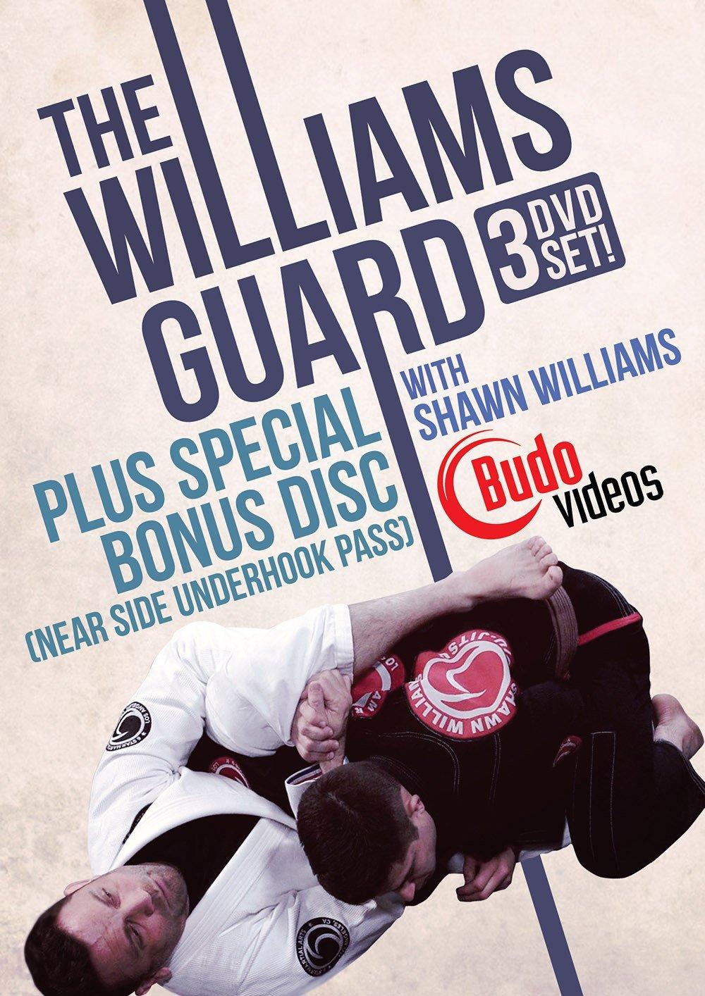 シェーン・ウィリアムス ウィリアムス・ガード 3枚組|ブラジリアン柔術教則DVD