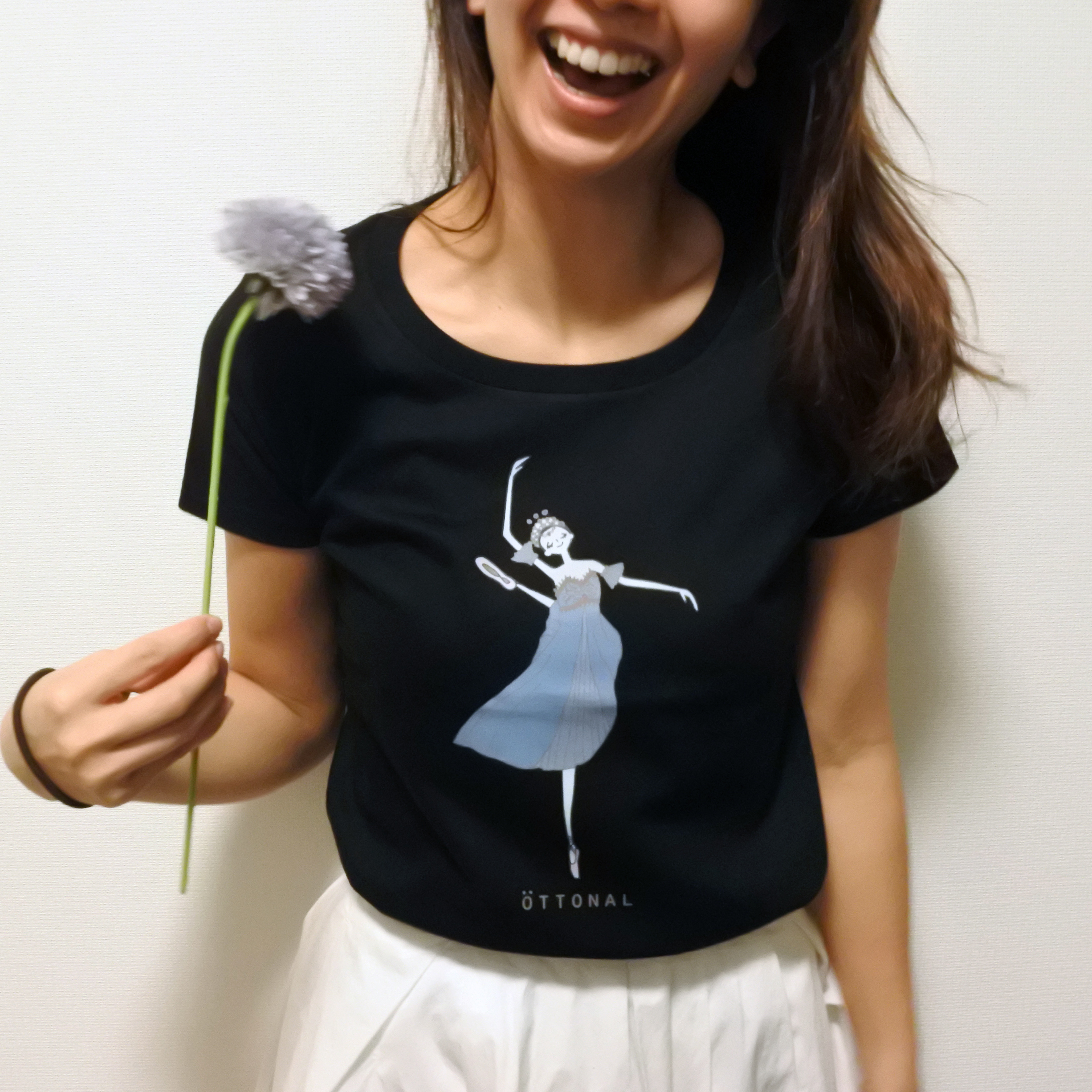 海賊Tシャツ(レディース) - 画像1