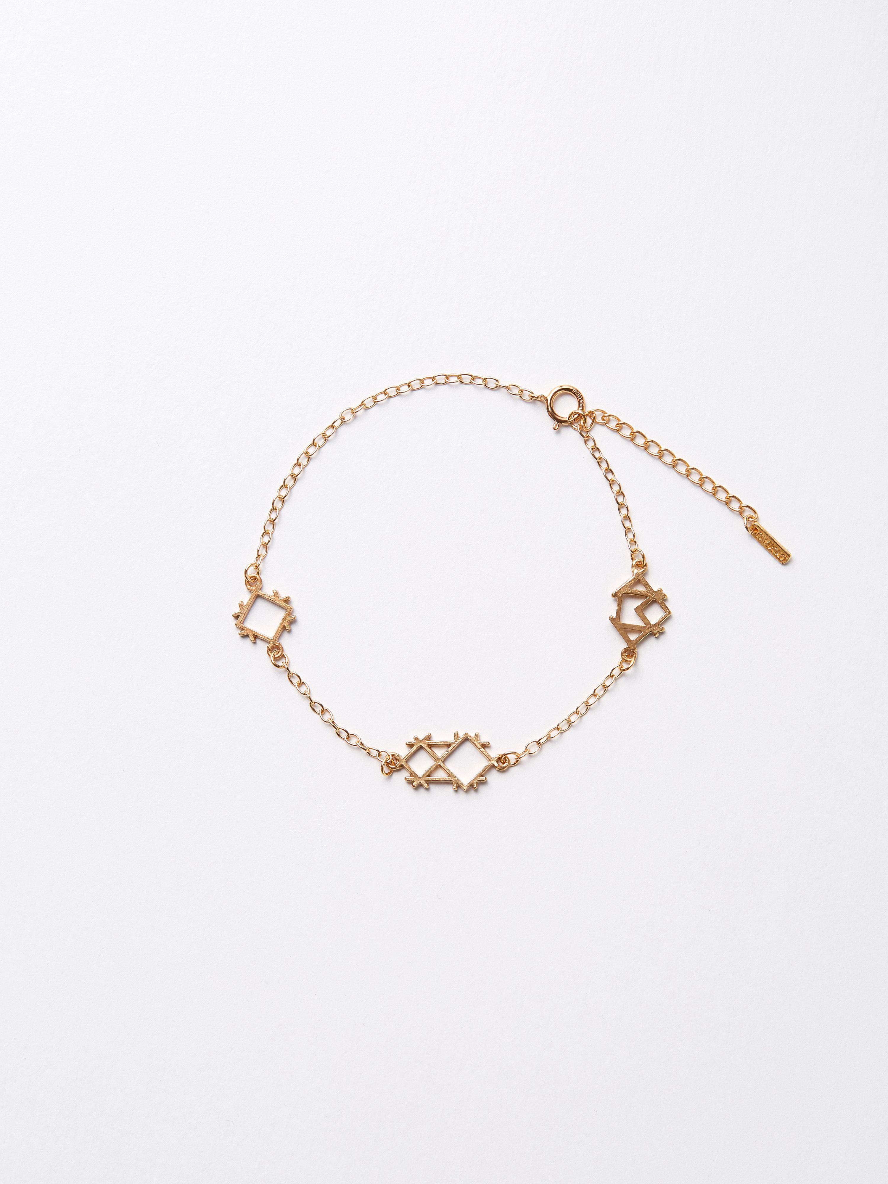"""""""géométrique"""" bracelet / IT BLST 1"""