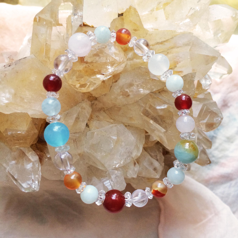 SARASVATI サラスヴァティ gemstone bracelet
