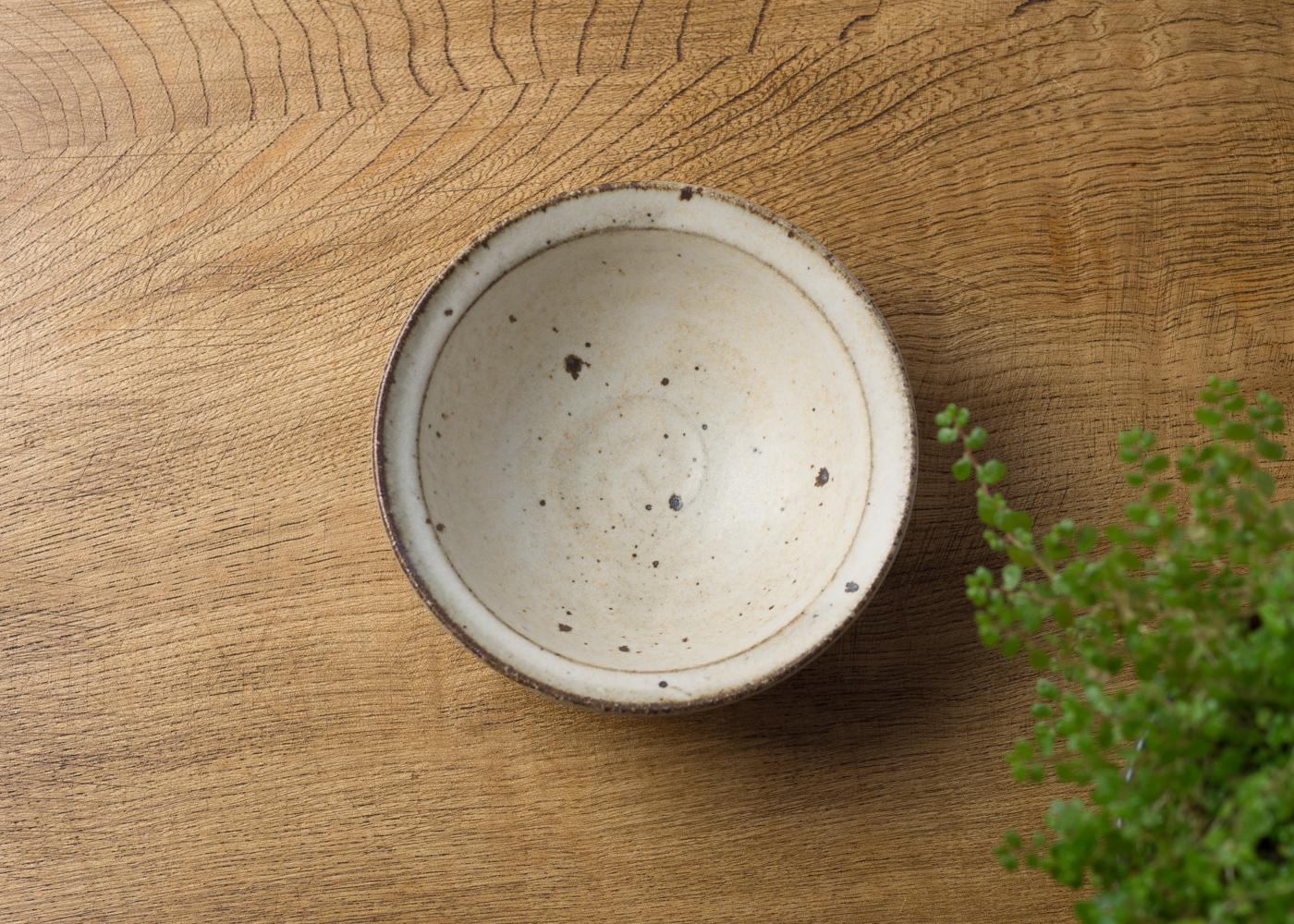 粉引き 小鉢 1/くるり窯