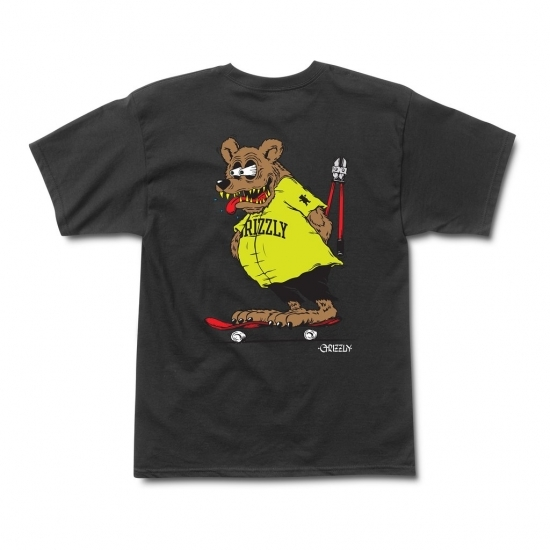 GRiZZLY Bear FinkTee BLK
