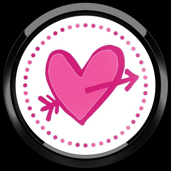 ゴーバッジ(ドーム)(CD0905 - Seasonal CUPID HEART) - 画像2