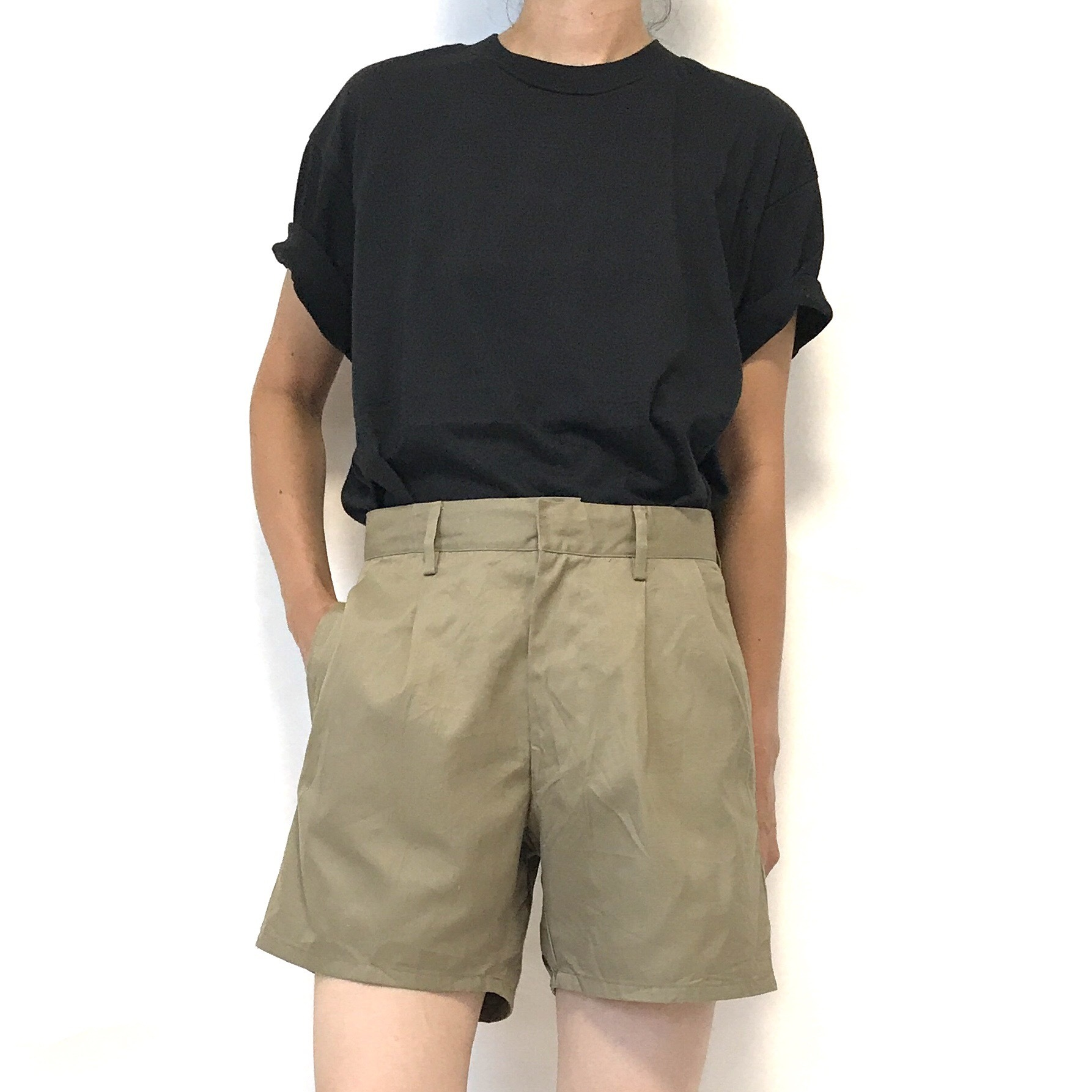 ⑤ Dead Stock 80's A.M.I. Chino Short Trousers 46