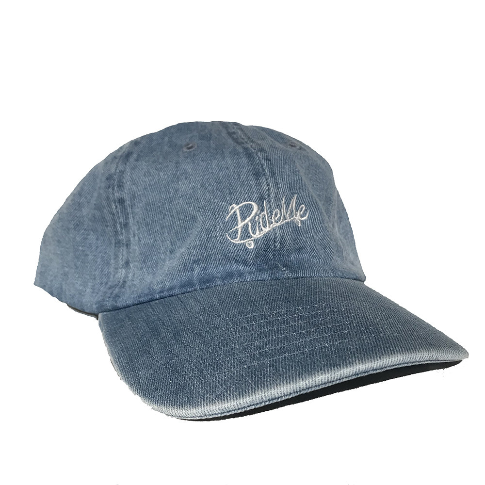 RideMe(ライドミー) | RideMe SIX panel CAP/LIGHT DENIM