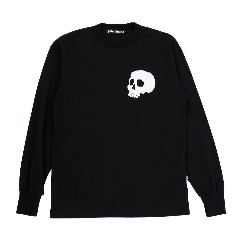 PALM ANGELS Skull Long Sleeve Tee