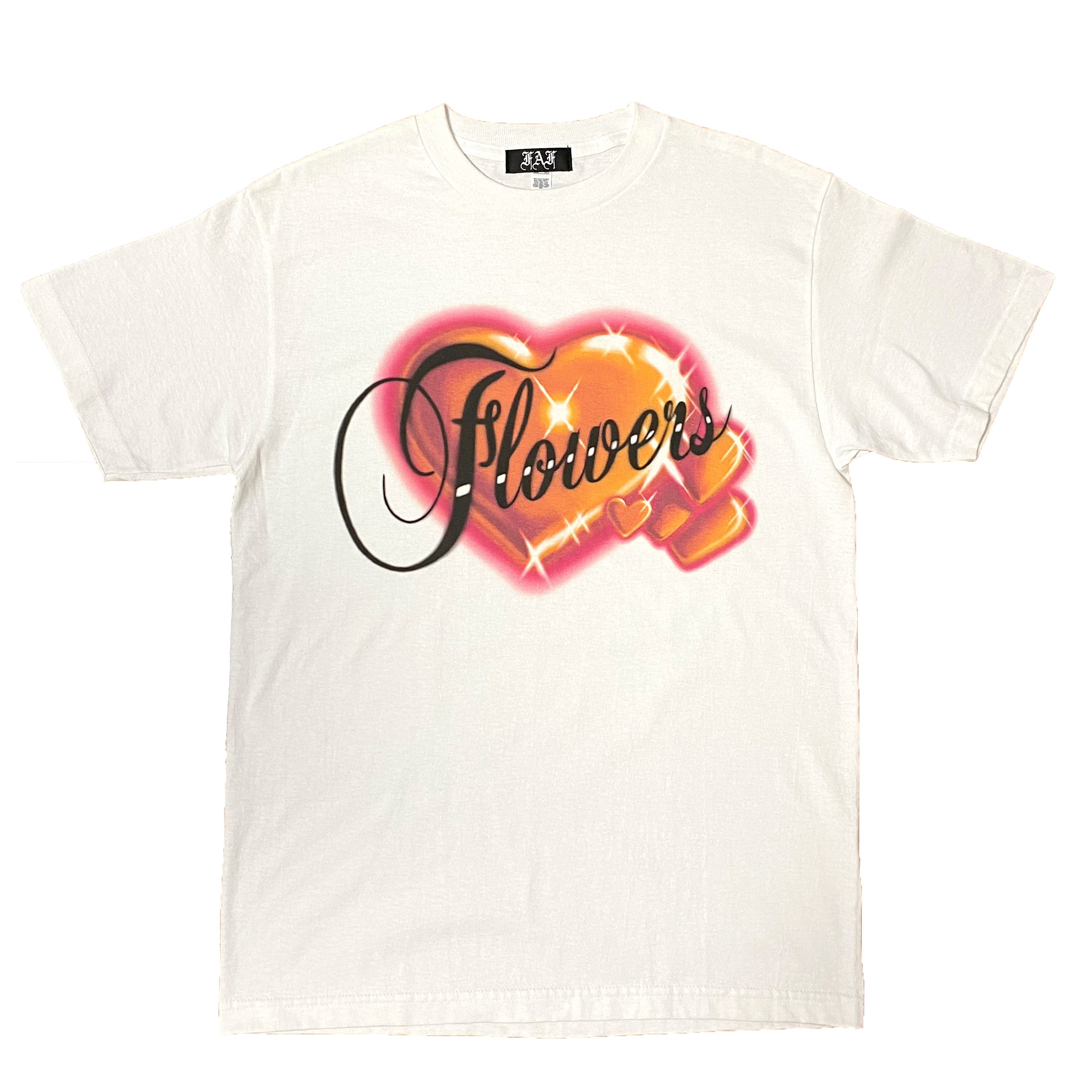 Air Brushed Hearts Tee - 画像1