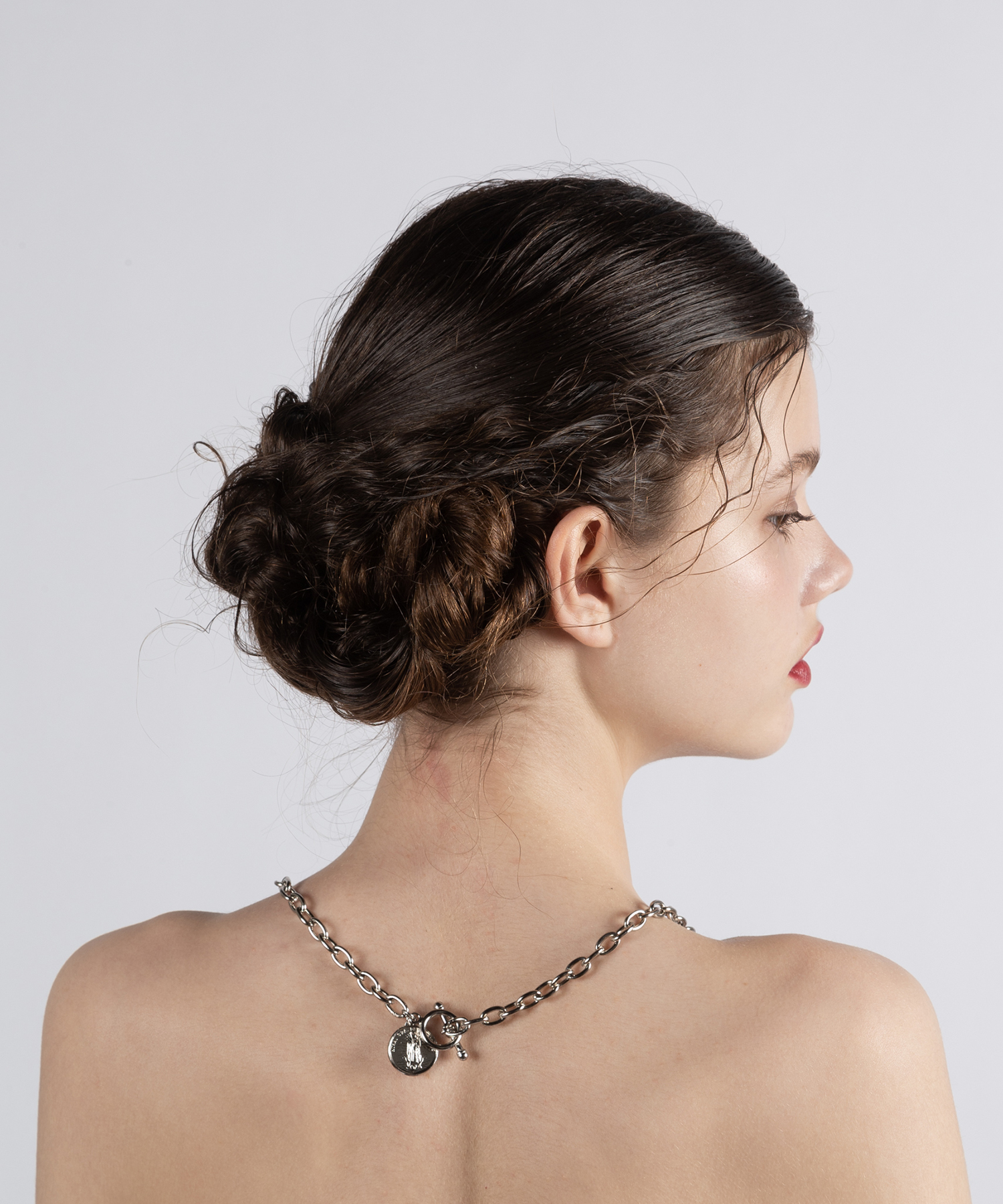 hs19SM-JR04 COIN CHAIN CHOKER