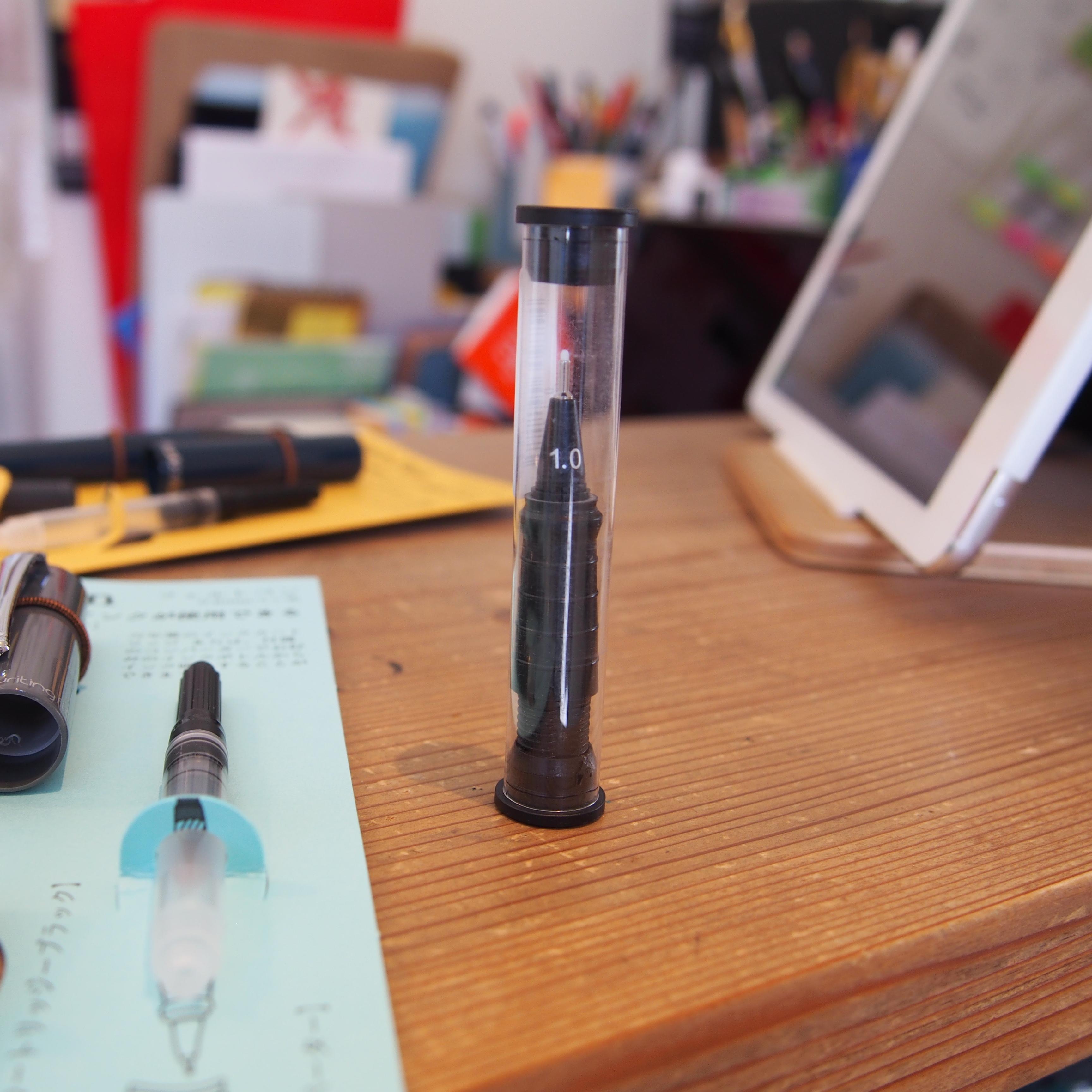 万年筆のインクが使用できるfelt pen(フェルト)ペン ペン先交換ユニット