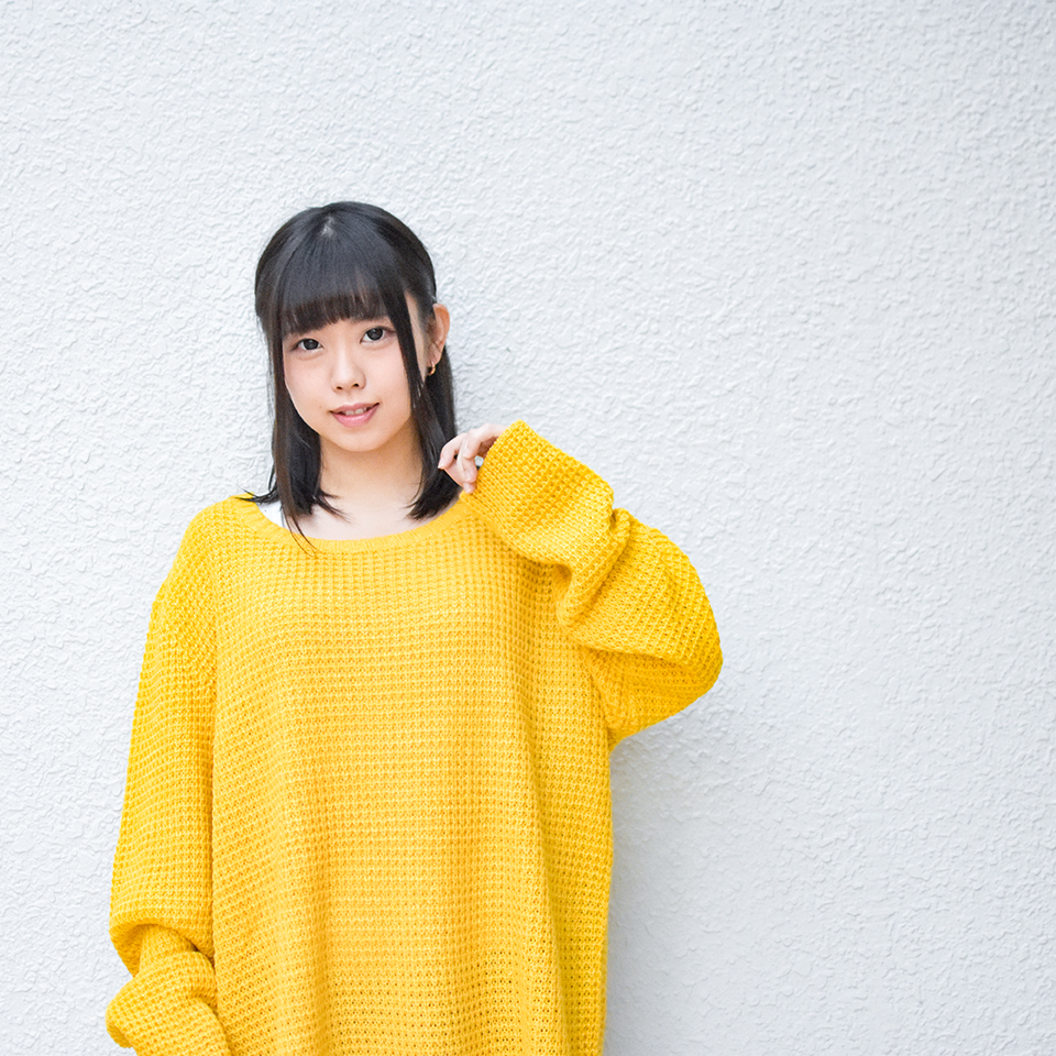 【Deviluse | デビルユース】Knit Crewneck(Yellow)