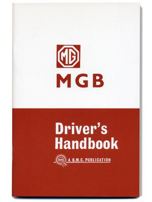 MGB ツアラー & GT・ドライバーズ・ハンドブック・1963-1965