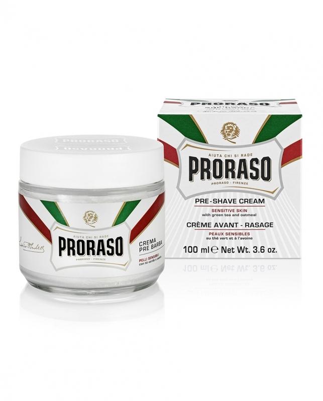 【箱傷み】PRORASO ポロラーソ プレシェーブ(軟化)クリーム センシティブ