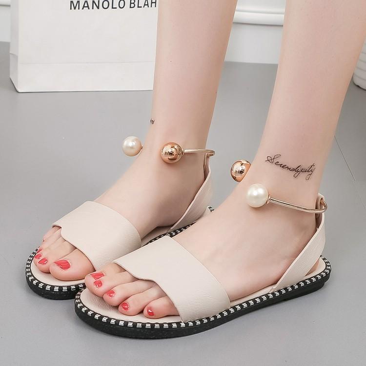 【shoes】無地シンプルサンダル12866839