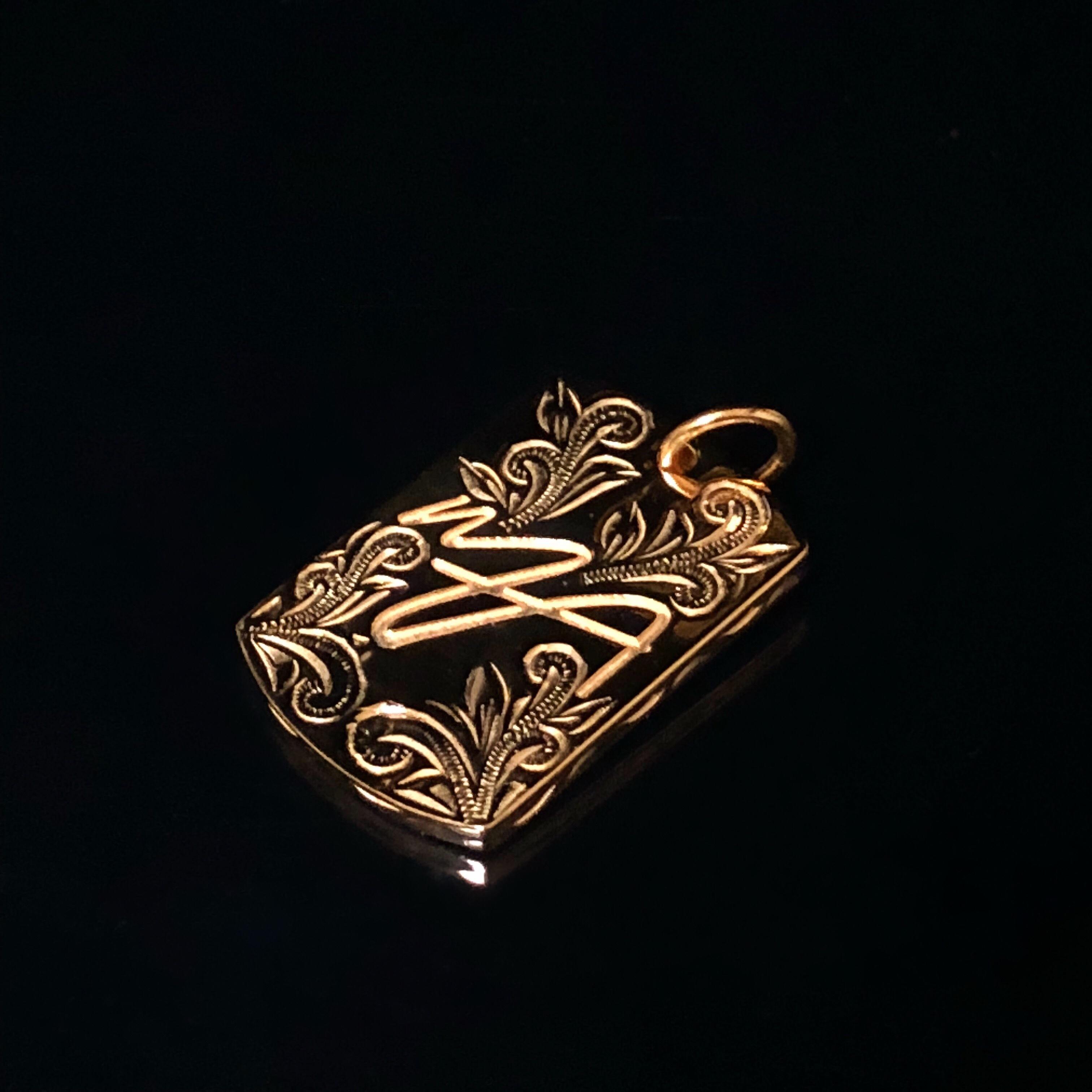 【予約販売】24kgp Hawaiian jewelry dog tag(MAR logo )