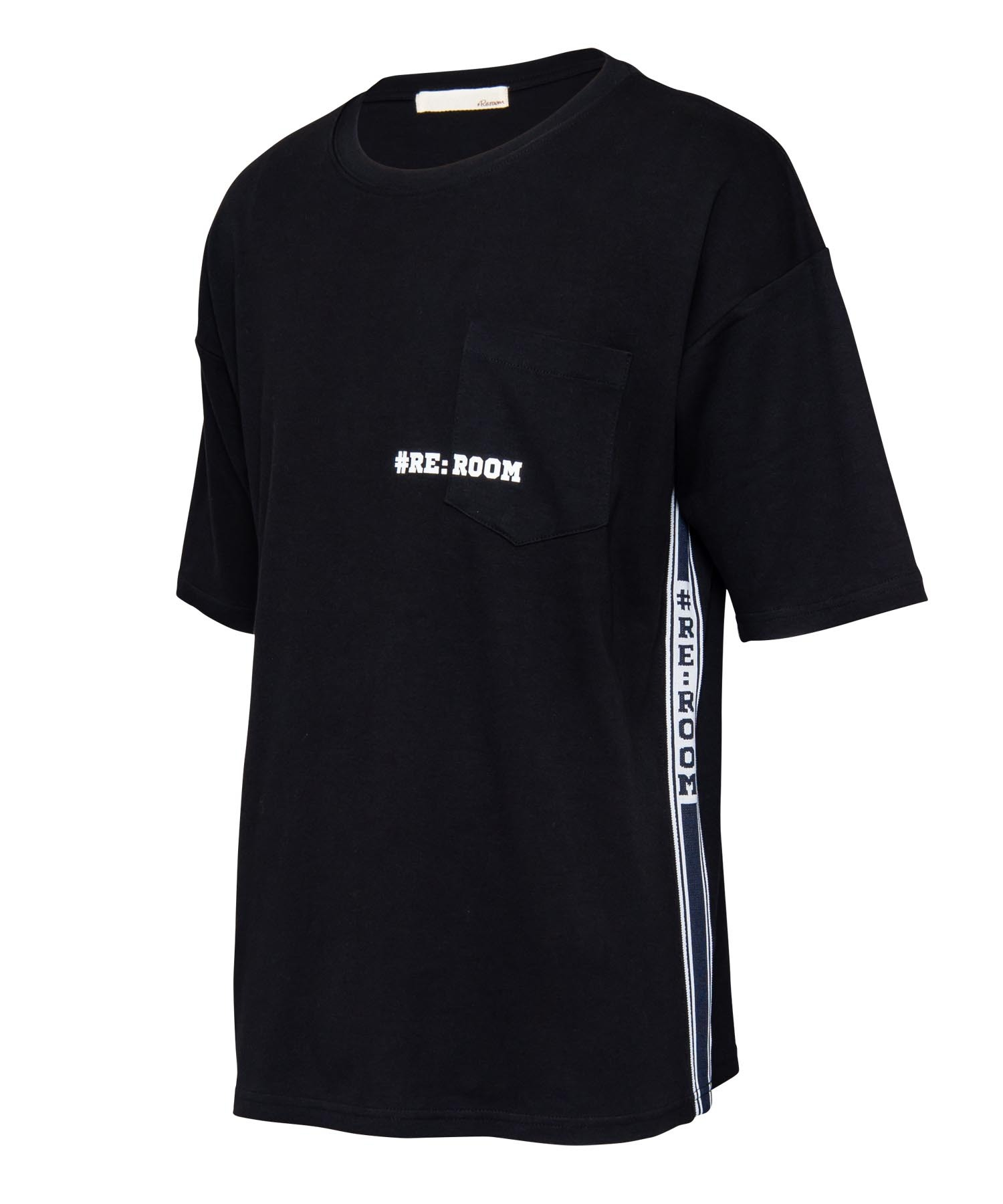 SIDE LINE LOGO BIG T-shirt[REC295]