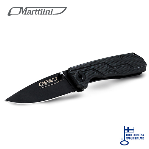 フォールディング ナイフ マルティーニ ブラック(ボックス入り)