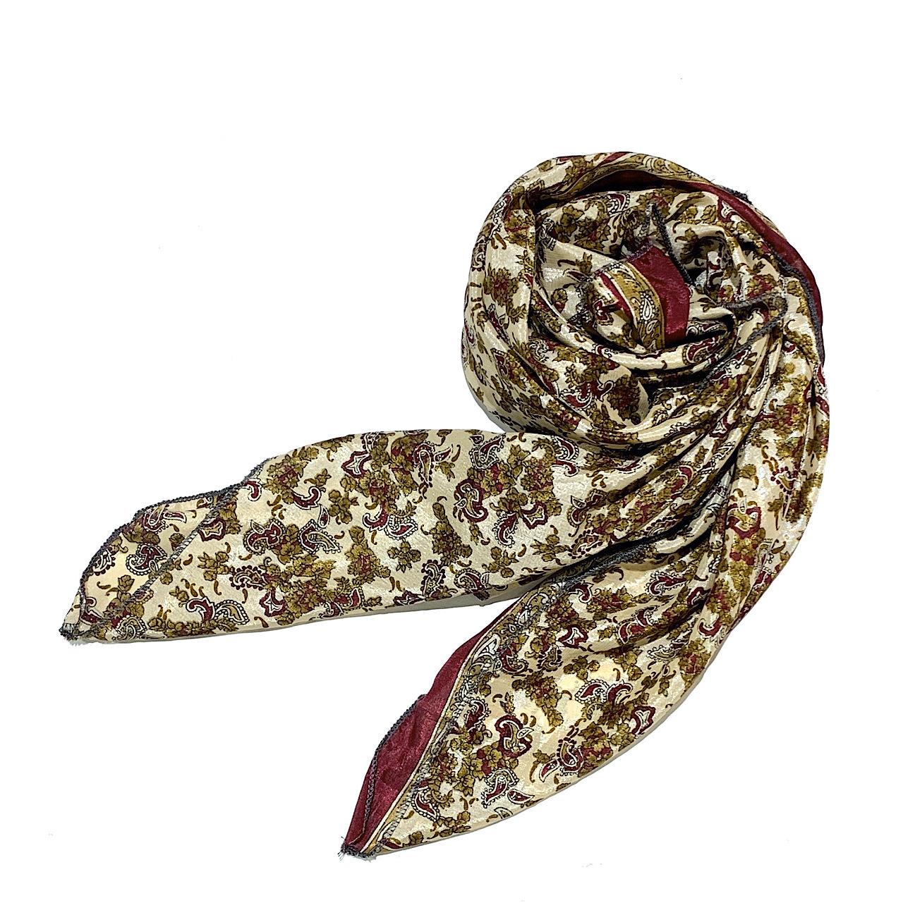 saris-001 シルクサリー スクエアショール