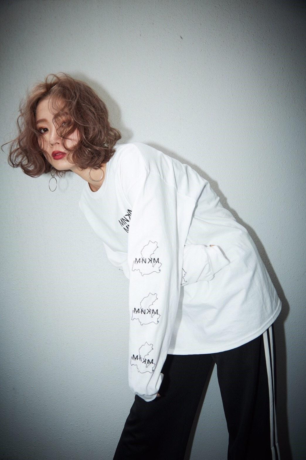 【UNISEX】 Regular MNKM Long sleeves