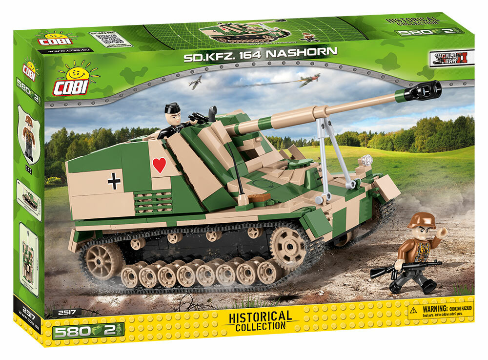 COBI #2517 ナースホルン 対戦車自走砲