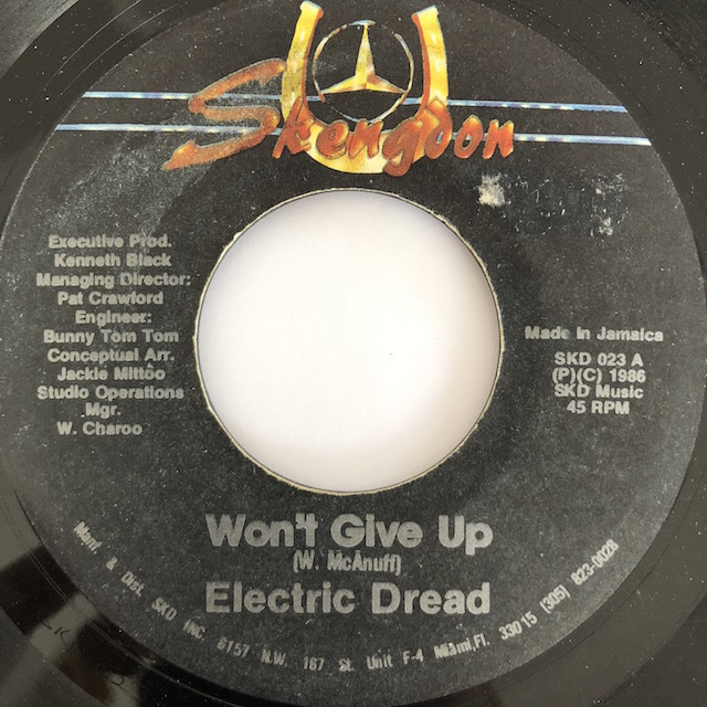Electric Dread(エレクトリックドレッド) - Won't Give Up【7'】