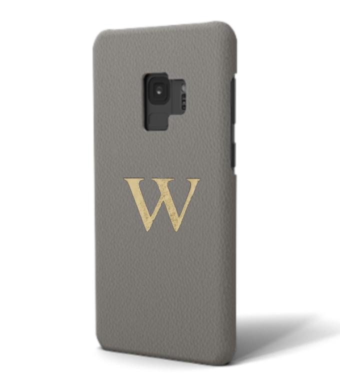 Galaxy Premium Smooth Leather Case (Concrete Grey)